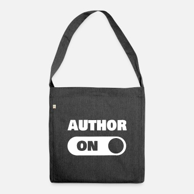 Author On author - Shoulder Bag recycled