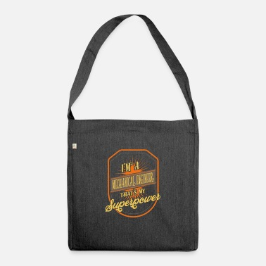 Engineering Mechanical Engineer - mechanical engineer - Shoulder Bag recycled