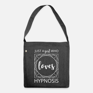 Just Just a girl who loves hypnosis - Shoulder Bag recycled