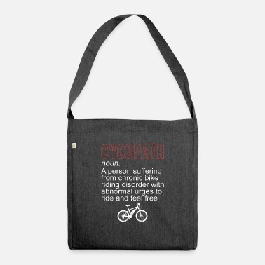 Cycling Cycling cycling - Shoulder Bag recycled