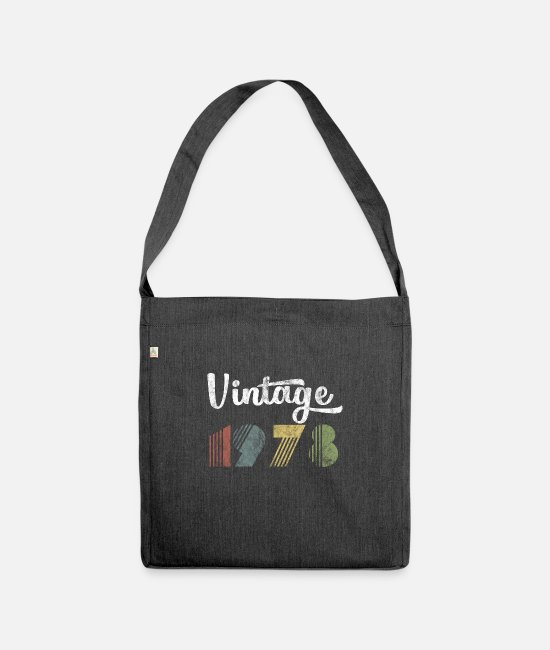 Game Bags & Backpacks - Vintage 1978 - Shoulder Bag recycled heather black