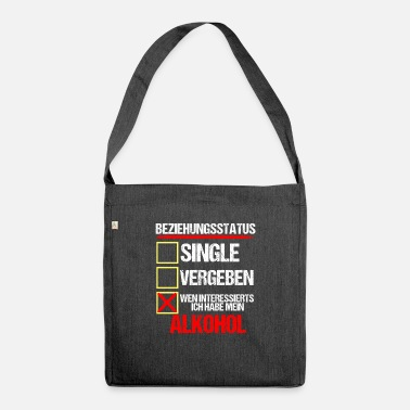 Alcohol Alcohol Drinker - Shoulder Bag recycled