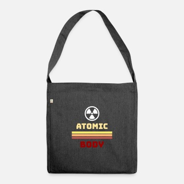 Atom Atomic atom body - Shoulder Bag recycled