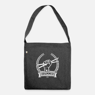 Drummer Gift drummer drummer drummer - Shoulder Bag recycled