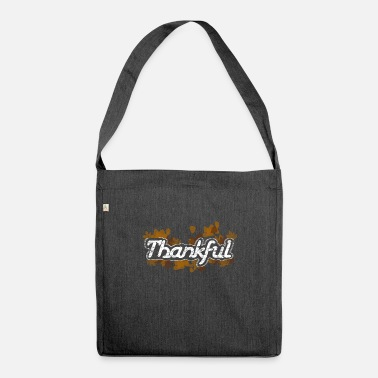 Thankful Thankful - Shoulder Bag recycled