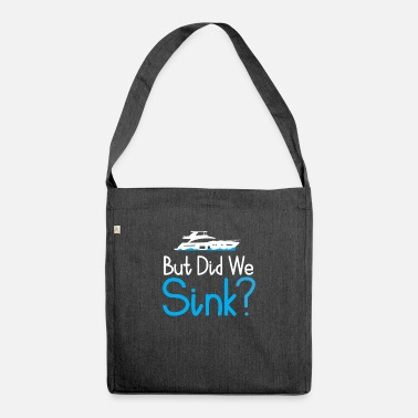 Boat Boat Boating Boating - Shoulder Bag recycled