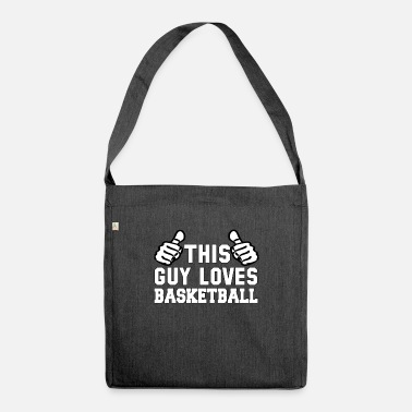 6fa81ade09 Ce mec aime le basket Sac à dos | Spreadshirt
