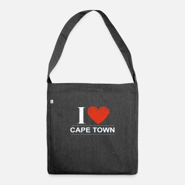 Cape Town I Love Cape Town - Shoulder Bag recycled