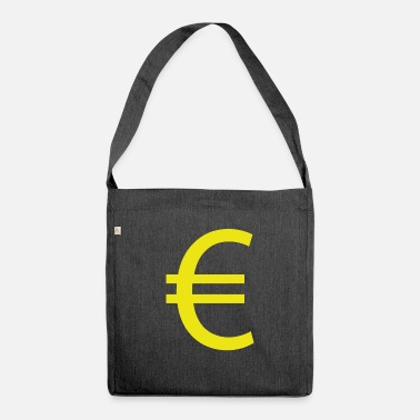Euro €, Euro, Euro sign - Shoulder Bag recycled