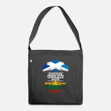 Lithuanian Scottish Grown With Lithuanian Roots - Shoulder Bag recycled