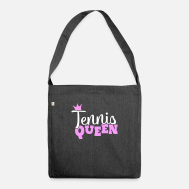 Passierschlag Tennis player tennis queen hobby gift - Shoulder Bag recycled