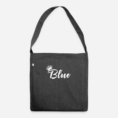 Blue White Blue White - Shoulder Bag recycled