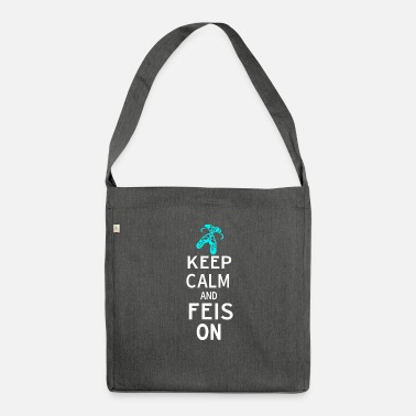 Funny Irish Dance Themed Gift for Girls Keep Calm - Shoulder Bag recycled