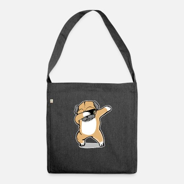 Bulldog Dab Dog Bully Dogge Gift - Shoulder Bag recycled