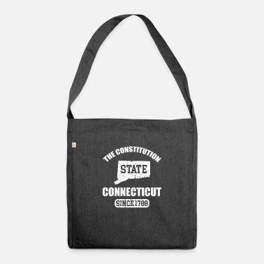 Constitution Connecticut The Constitution State Since 1788 - Shoulder Bag recycled