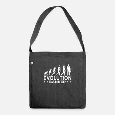 Banker Mother Banker banker banker banker - Shoulder Bag recycled