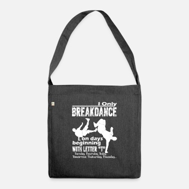 Breakdance Breakdance Sjove Breakdance - Skuldertaske af recycling-material