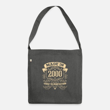 Mature Matured to perfection Made in 2000 - Shoulder Bag recycled