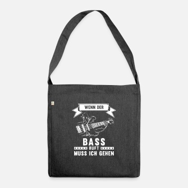 Player Bass player - Shoulder Bag recycled
