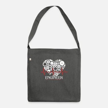 Heartbeat Engineer Engineer Heartbeat - Shoulder Bag recycled