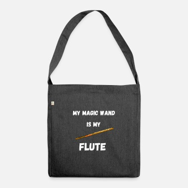 Magic Flute Magic Wands Flute Wind Instrument Magic Wizards - Shoulder Bag recycled