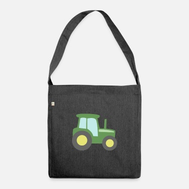 Tractor tractor - Shoulder Bag recycled