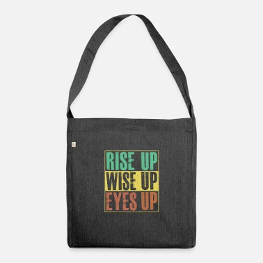 Hamilton Rise Up Wise Up Eyes Up Hamilton T Shirt - Shoulder Bag recycled