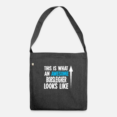 Bobsleighing Bobsleigh Bobsleigh - Shoulder Bag recycled