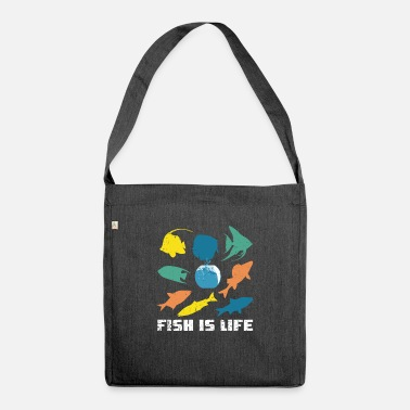 Aquarium Aquarium aquarium life - Shoulder Bag recycled