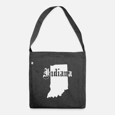 Indiana State State of Indiana - Shoulder Bag recycled