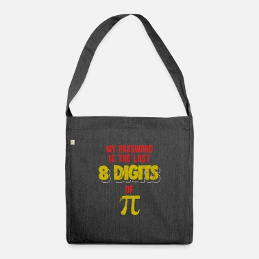 14 Computer Password Pi Day Pun Science Funny TShirt - Shoulder Bag recycled