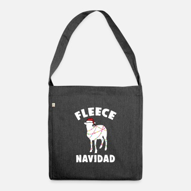 Funny Christmas Pun Sheep Apparel - Shoulder Bag recycled
