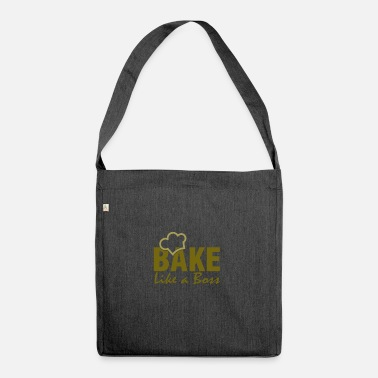To Bake Baking - baking - Shoulder Bag recycled
