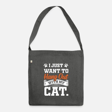 Recreational Cat recreation - Shoulder Bag recycled