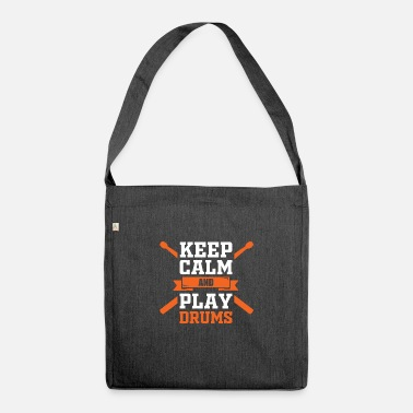 Drummer Drummer Drummer Musician Drummer - Shoulder Bag recycled