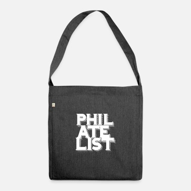 Philatelist philatelist - Shoulder Bag recycled