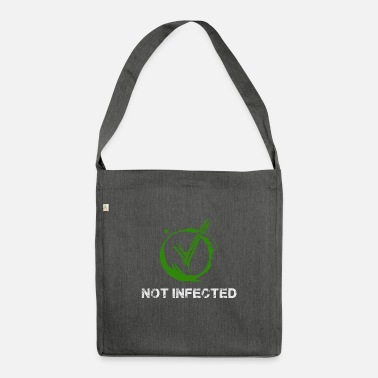 Funny Funny Corona Virus Quarantine 2020 Survived Gift - Shoulder Bag recycled