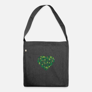 Protection Of The Environment Environment - Environmental Protection - Shoulder Bag recycled
