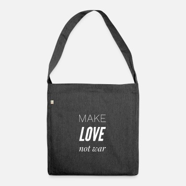 Love Was Not Make love was not - Shoulder Bag recycled