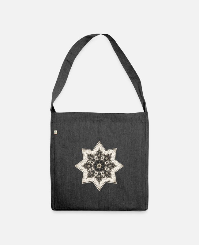 Geometry Bags & Backpacks - Asia star - Shoulder Bag recycled heather black
