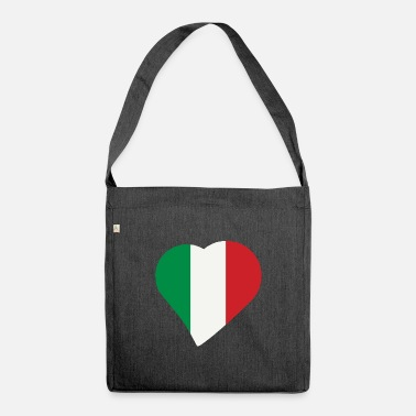 Italien Italien Italien Italien - Skuldertaske af recycling-material