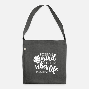 Positivity positive - Shoulder Bag recycled