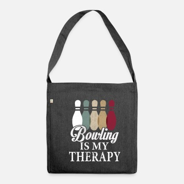 Bowling Bowling Bowling Bowling Bowling - Shoulder Bag recycled