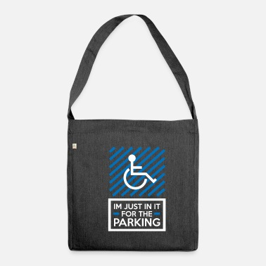 Disabled Wheelchair users - Shoulder Bag recycled