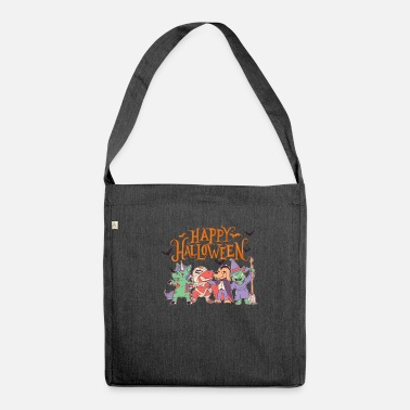 Halloween Happy Halloween Funny Party Costume - Shoulder Bag recycled