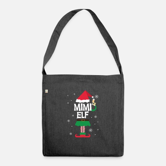 Christmas Bags & Backpacks - Mimi Elf Mimi Elf - Shoulder Bag recycled heather black
