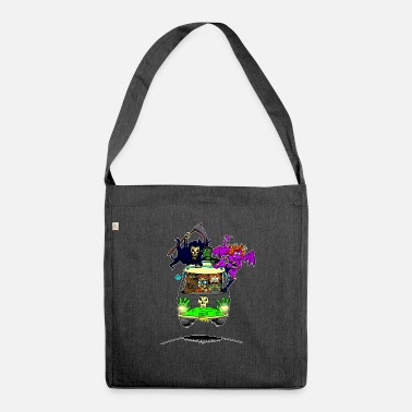 Scooby No Scooby fan art final - Shoulder Bag recycled