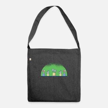 Plant Grounds plants - Shoulder Bag recycled