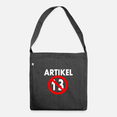 Article Article 13 - Shoulder Bag recycled