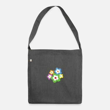 Occasion A bouquet of flowers for all occasions - Shoulder Bag recycled